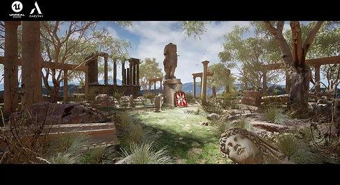 Previz - Roman Ruin - Unreal Engine