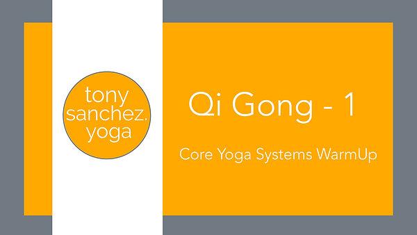 Qi Gong - series 1