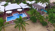 Aerial View of Our Fijian Home