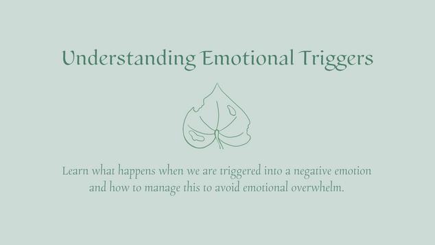 Understanding Emotional Triggers