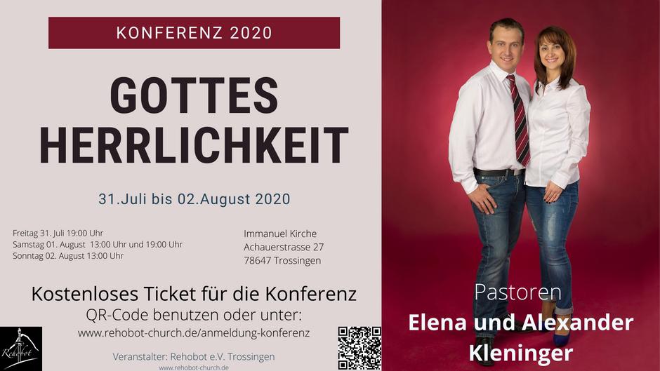 Konferenz Gottes Herrlichkeit 2020
