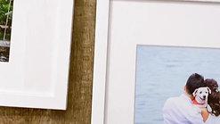 Framed Fine Art Prints White Board White Frame 1
