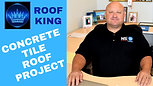 Roof King: concrete tile project