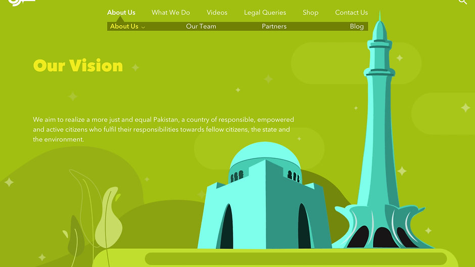 shehri website animations