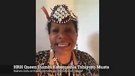 Queen Diambi Kabatusuila Tshiyoyo Muata, Democratic Republic of Congo