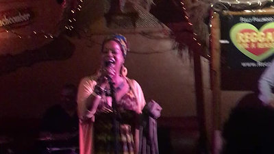 Queen Theresa King Sings at Don The Beachcomber in Huntington Beach Ca.