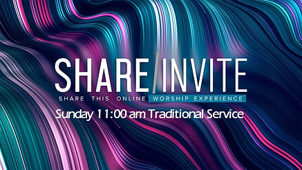 11:00 am Online Traditional Services