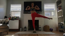 Pilates Mat with Natasha: Strong Legs + Core