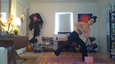 Gentle Vinyasa with Amber: Hip Flexors, Legs, + Core