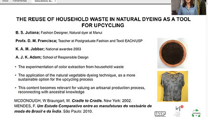 GT1 B617.125 - English -USE OF HOUSEHOLD WASTE IN NATURAL DYEING AS A TOOL FOR UPCYCLING