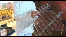 Harpa de Cristal XL escala Dó Maior / Crystal Harp XL C Major