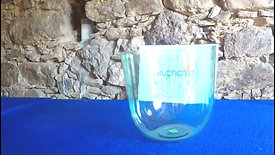 Taça Colorida (Verde Mágico) Fá (174.5Hz) / Colored (Magic Green) Clear Crystal Singing Bowl F (174.5Hz) perfect pitch