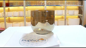 Taça de Cristal Champagne Mi 324Hz@432Hz / Champagne Crystal Singing Bowl E 324@432Hz