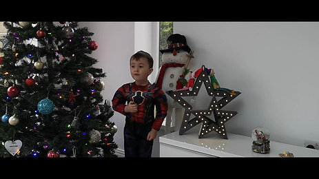 Children's superhero promo
