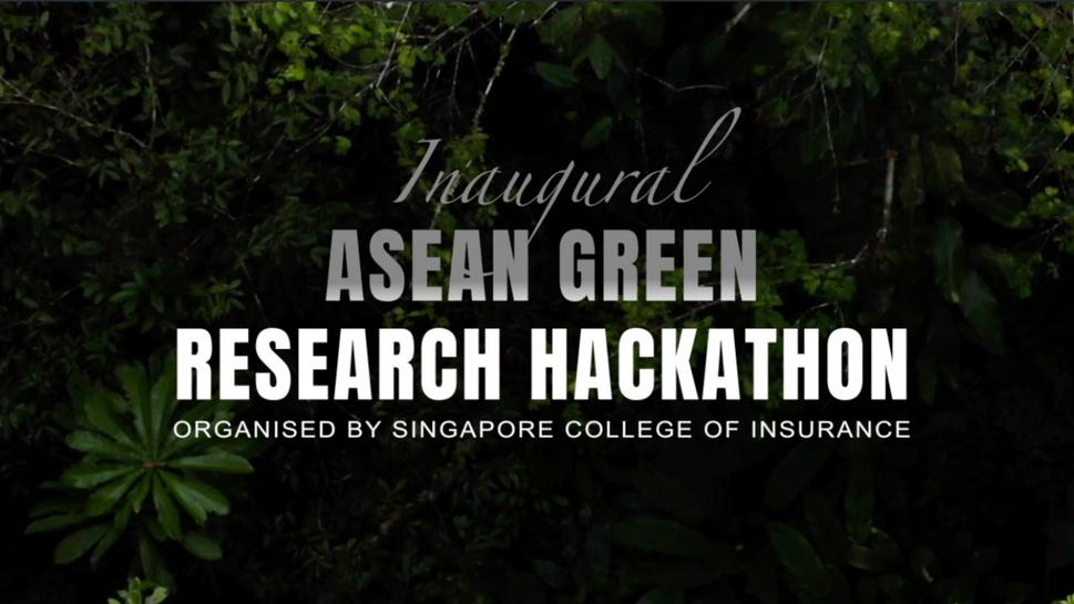ASEAN GREEN RESEARCH HACKATHON