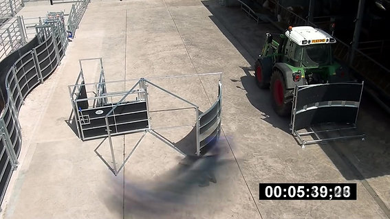 IAE Rotex Portable Cattle Handling System
