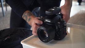 Video teaser per shooting fotografico