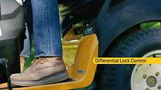 Differential Lock Control   New to Cub Cadet® Garden Tractors