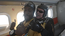 Charles Tillman Jumps Out of an Airplane _ USAA
