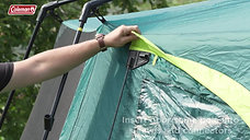 Coleman® Octagon BlackOut 8 person tent – how to pitch