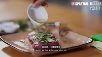 Ep.5 - Grass Fed sirloin steak with chimichurri sauce and quinoa salad