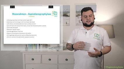 Aspirationsprophylaxe
