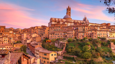 A Traveler in Italy - Siena: A
