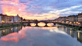 Italy's Waterways - Along the Arno River