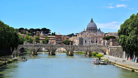 Italy's Waterways - Along the Tiber River