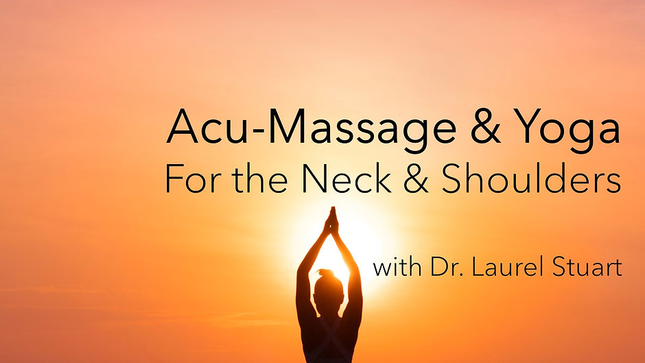 Online Yoga and Acu- Massage For Better Health