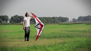 Artist Stanislav Golovin flies a kite to the sound of Mozart | האמן סטניסלאב גולובין מטיס עפיפון לצלילי מוצרט