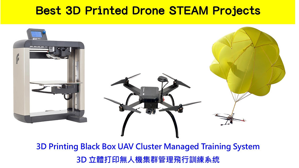 Best 3D Printed Drone STEAM Projects