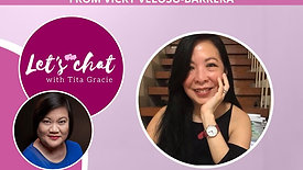 Let's Chat with Tita Gracie | Episode 4 | CREATING GREAT MEALS AND EXPERT TIPS FROM VICKY VELOSO-BARRERA