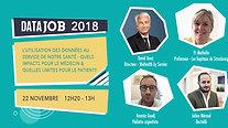 Table ronde Santé à DataJob 2018