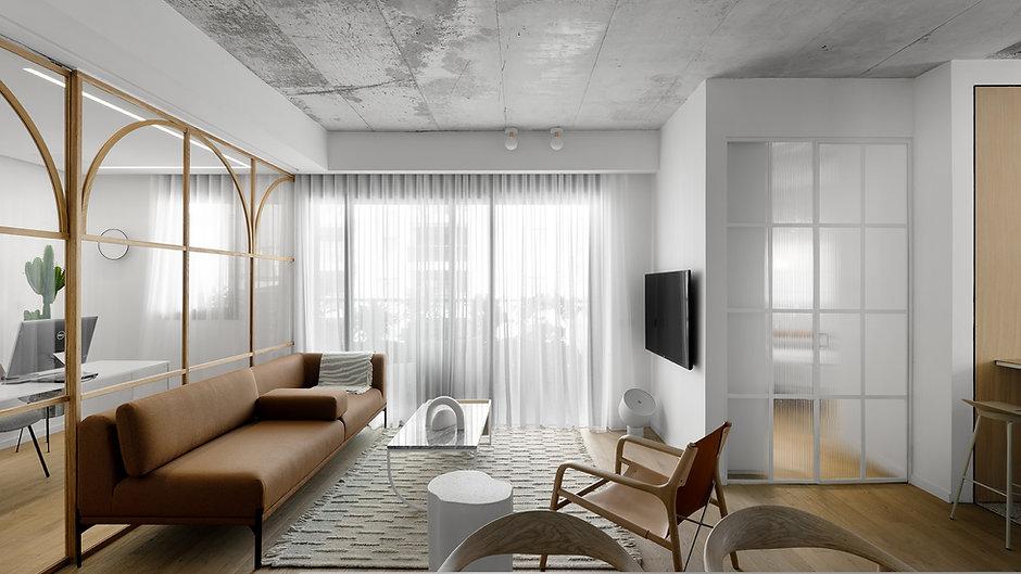 דירה ברמת גן, עיצוב: דורי רדליך