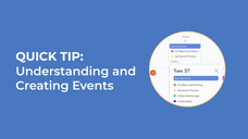 Walkthrough the Family Core | Schedule or Add an Event to the Calendar