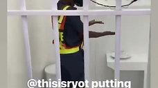 Nelson Mandela Jail Cell AR Experience