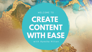 Creating Consistent Content with Ease