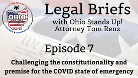 Episode 7 - Challenging the constitutionality and premise for the COVID state of emergency