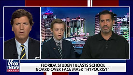 10 Year-Old Boy Blasts His School, Teachers & School Board For Unscientific, Hypocritical & Dangerous Mask Mandates