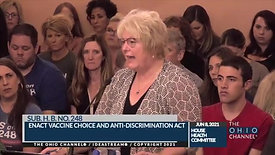 Ohio House Bill 248, Dr Sherri Tenpenny Proponent Testimony