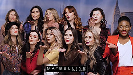 Maybelline New York. Making of Squad sesja foto