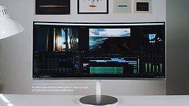 Samsung x Dom produkcyjny Foszer Sawicki | Monitory dla profesjonalistów