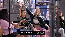 Maybelline New York. Making of Make Up in the City