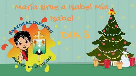 MARÍA SIRVE A ISABEL