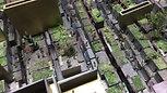 反転極小隙間(個性表出の住宅街共用通路)