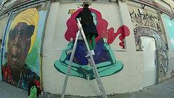 Graffiti Woman