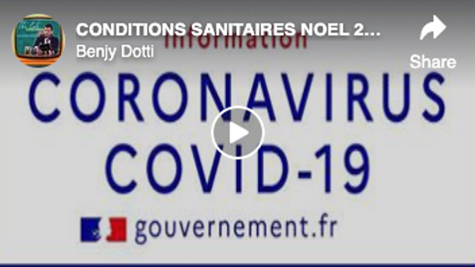 CONDITIONS SANITAIRES NOEL 2020 CADRE FAMILIAL