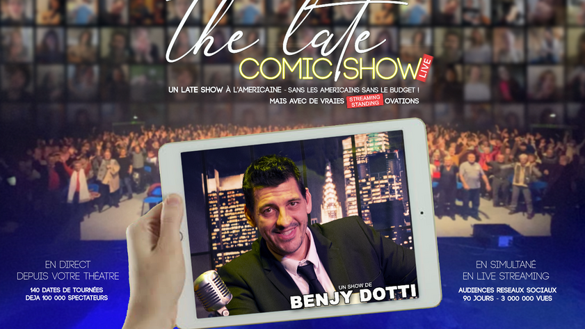 THE LATE COMIC SHOW LIVE