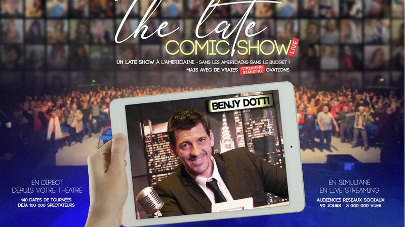 THE LATE COMIC SHOW 16/05